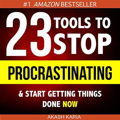 Ready, Set...PROCRASTINATE!      23 Anti-Procrastination Tools Designed to Help You Stop Putting Things off and Start Getting Things Done              Autor:                                                                                                                                 Akash Karia                               Sprecher:                                                                                                                                 Matt Stone                      Spieldauer: 1 Std. und 58 Min.     4 Bewertungen     Gesamt 4,3