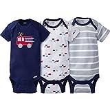 Gerber - Body para bebé (3 Unidades, 3-9 Meses), diseño de Perros Azules