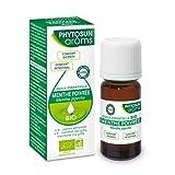PHYTOSUN arôms – Huile Essentielle Menthe Poivrée BIO – 100% pure et naturelle – Contribue au confort Digestif et Intestinal – 10 ml