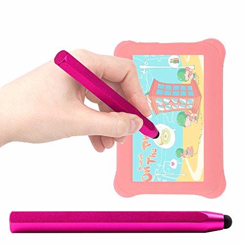 DURAGADGET Lápiz Stylus Rosa para Alldaymall - Tablet para niños - ¡Ideal para Mejorar La Precisión En Su Pantalla