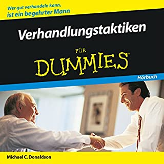 Verhandlungstaktiken für Dummies Titelbild