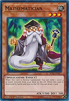 yu-gi-oh Mathematician - SDCL-EN017 - Common - 1st Edition - Structure Deck  Cyberse Link  1st Edition