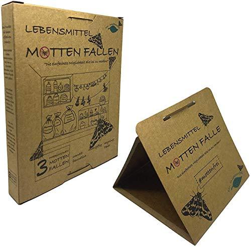 Mr. Insektenfrei 3X Nahrungsmittel-Motten Fallen - effektive Lebensmittelmottenfalle (3)