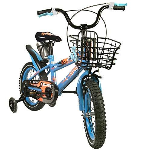 Zerimar Bicicletas Infantiles para niños y niñas | Bici con ruedines y Cesta | Bici niño | Bicicleta niños 16,18 y 20 Pulgadas | Bicicletas niños 3-8 años