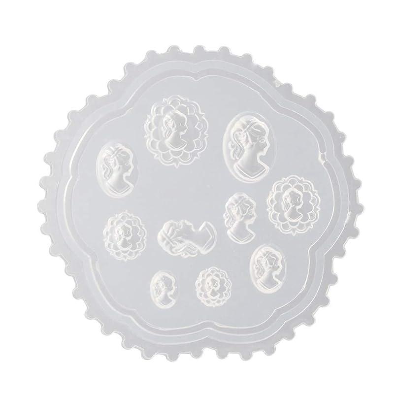 リフレッシュシットコムハリウッドcoraly 3Dシリコンモールド ネイル 葉 花 抜き型 3Dネイル用 レジンモールド UVレジン ネイルパーツ ジェル ネイル セット アクセサリー パーツ 作成 (2)