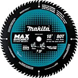 Makita B-66977 10' 80T Carbide-Tipped Max Efficiency Miter Saw Blade