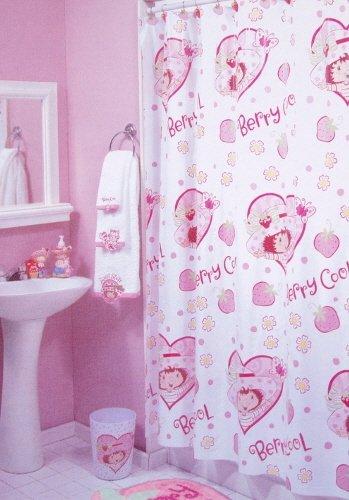 Emily Erdbeer Dusch Vorhang