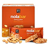 Perfect Keto Nola Bars   Gluten-Free Keto Granola Bars with Zero Added Sugar or Carbs   Enjoy a Chewier, Nuttier, and Tastier Way to Curb Cravings and Start the Day   Peanut Butter   8 Pack