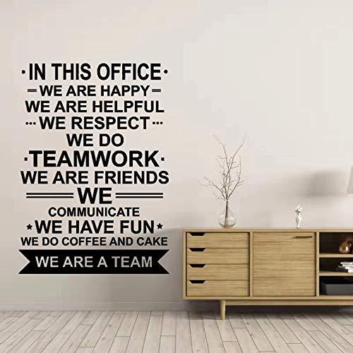 Vinilo decorativo somos trabajo en equipo inspirador trabajo en equipo vinilo inspirador personaje de película hombre