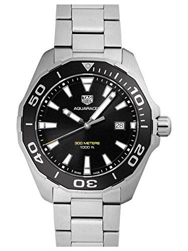 TAG HEUER Watch Aquaracer 300M 43 Mm Quartz Black Way101A.Ba0746 Men's New