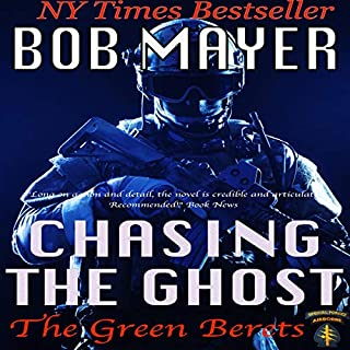 Chasing the Ghost (Black Ops) audiobook cover art