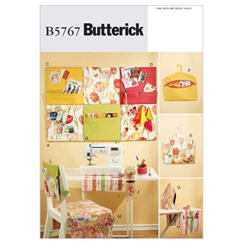 BUTTERICK PATTERNS B5767 Sewing Room Organizers, Size No Size