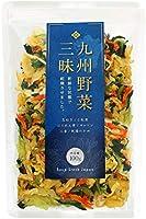 九州野菜三昧 乾燥野菜 国産 無添加 野菜 5種類 わかめ ミックス 100g
