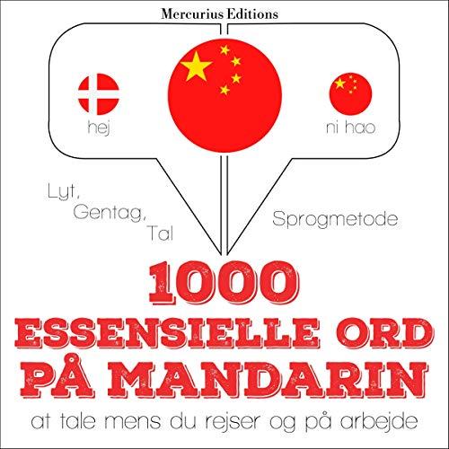 『1000 essensielle ord på Mandarin』のカバーアート