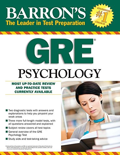 GRE Psychology (Barron's Test Prep)