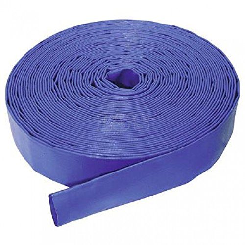 "2"" i.d. Lay Flat Delivery Hose Blue 4.5 bar (per metre)"