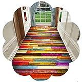 ZHAOHUI-alfombras pasillo Larga Resistente Al Desgaste Agradable para La Piel Habitación Sala Personalizar, 6mm (Color : A, Size : 1.2x2.5m)