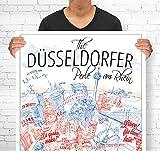 Lieferlokal Stadtposter Düsseldorf in limitierter Auflage