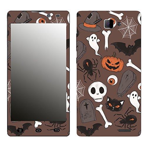 Disagu SF-106412_1210 Design Folie für Archos 50 Neon - Motiv Halloweenmuster 02