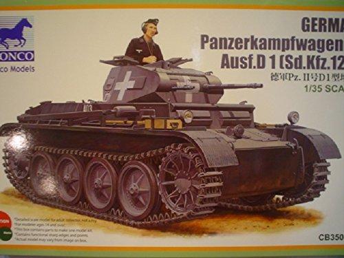 Bronco CB35061 Panzerkampfwagen II Ausf D1