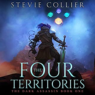 The Four Territories     The Dark Assassin, Book 1              Written by:                                                                                                                                 Stevie Collier                               Narrated by:                                                                                                                                 Doug Tisdale Jr.                      Length: 11 hrs and 9 mins     4 ratings     Overall 4.8