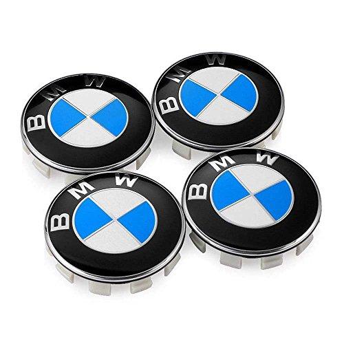 GONGXIFACAI Mini Cooper Wheel Center Hub Cap Badge Emblema Logo Rim Sticker 54mm Set 4pcs