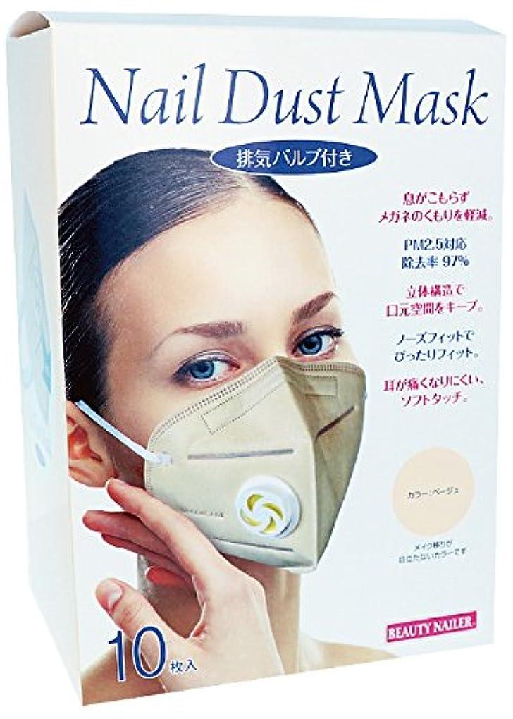 排気バルブ付き ネイルダストマスク(MASK-04)