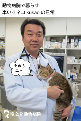 Every day of the wheelchair cat kusao which lives in an animal hospital3 kusao blog (Japanese Edition)