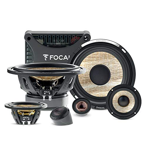 Best Review Of Focal PS 165 F3E Flax EVO 6.5 3-Way Component kit, RMS: 80W - MAX: 160W PS165F3E
