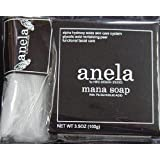anela アネラ マナソープ(泡立てネット付き) 100g ×3個セット