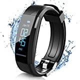 ELEGIANT HR Activity Tracker, Fitness Tracker IP67 with fit Pedometer Waterproof, Heart Rate Monitor, Calorie Counter, Sleep Monitor for Men Women and Kids