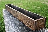 40' - 50' Rustic Planters Box (5' - 5.75'T - Tall Version)
