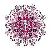 Decoración para el hogar Flor Mandala Dormitorio indio Tatuajes de pared Pegatinas de arte Mural Vinilo para el hogar Familia etiqueta de la pared Inicio Deco ~ 1 84 * 84 cm