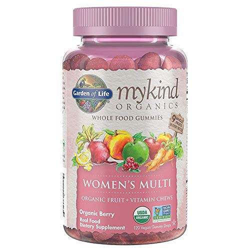 Garden of Life - frutti di gummies del multi whole food di mykind organics delle donne - 120 Gummies