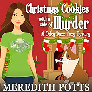 Christmas Cookies with a Side of Murder audiobook cover art