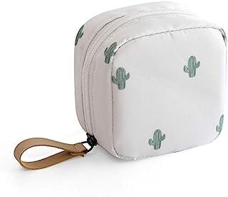 حقيبة ماكياج للسفر حقيبة مستحضرات التجميل حقيبة أدوات الزينة منظم الحقيبة محفظة اكسسوارات السفر, , Mini Cactus - Lazy Cosm...