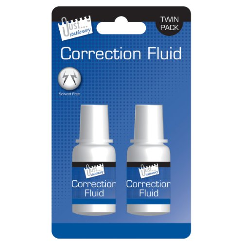 2 unidades de corrector líquido Just-Stationery de 20 ml