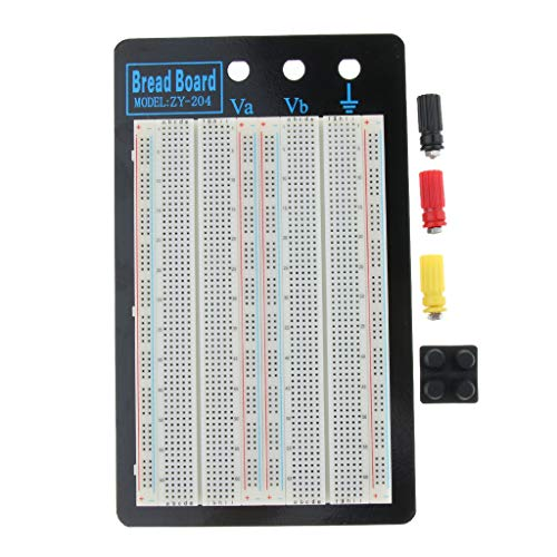 MagiDeal Prueba/Depuración/Experimentación de Circuitos Electrónicos Reutilizables Placa de Pruebas de Ensamblaje Sin Soldadura