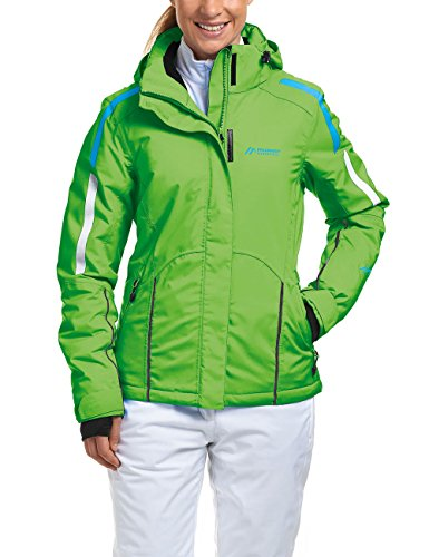 Maier Sports Damen Cassiopeia Skijacke, Classic Green, 18