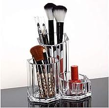 LYQQQQ Cosmetische Opbergdoos Make-up Opbergdoos, Borstelhouder Verjaardagscadeaus Voor Duidelijke Kunststof Bureau Organi...