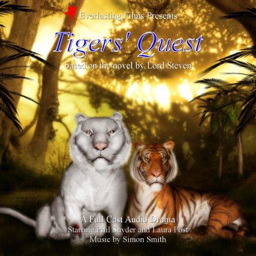 Tigers' Quest audiobook cover art