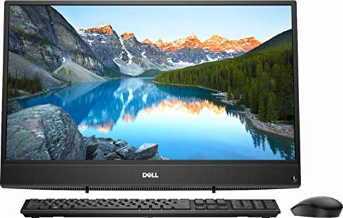 """Dell New 2018 23.8"""" FHD Widescreen LED Touchscreen All-in-One (AIO) High Performance Computer PC, AMD A9-9425 3.1GHz up to 3.7GHz, 8GB DDR4, 1TB HDD, USB 3.1, WiFi, Bluetooth, Windows 10, Black"""