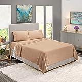 Clara Clark Premier 1800 Series 4pc Bed Sheet Set...