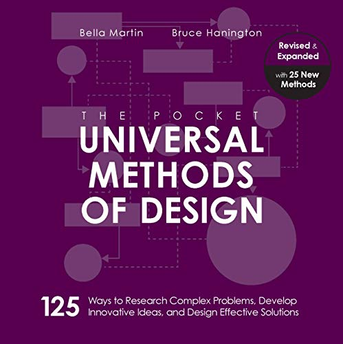 The Pocket Universal Methods of Design, Revised and Expanded: 125 Ways to Research Complex Problems, Develop Innovative Ideas, and Design Effective Solutions (Rockport Universal)
