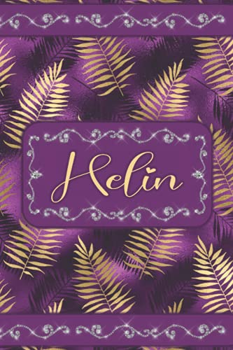 HELIN JOURNAL GIFTS: Persaonalized Name Notebook (Beautiful Present for All Events - Card Alternative)