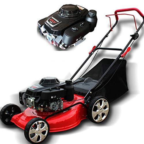 QILIN 18 Zoll 5,5 PS 4-Takt-Benzinmäher Rasenmäher, Tragbar Zusammenklappbar/Für Große Villen, Parks, Sportplätze