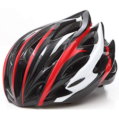 JM- Fahrradhelm für Erwachsene Mountain Road Bike Integriertes Formteil Leichter, atmungsaktiver Fester Fahrradhelm