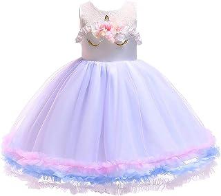 BTTNW CL Vestido de Princesa de Las niñas Falda Ropa Infantil Muchachas del Vestido de la Princesa Vestido de Falda de los...