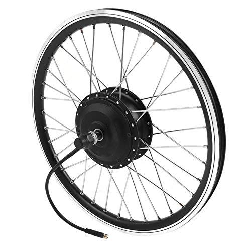 DAUERHAFT Kits de conversión de Bicicleta eléctrica de 36 V / 48 V 350 W 700C, para Bicicleta eléctrica para Freno en V y Freno de Disco(#2)