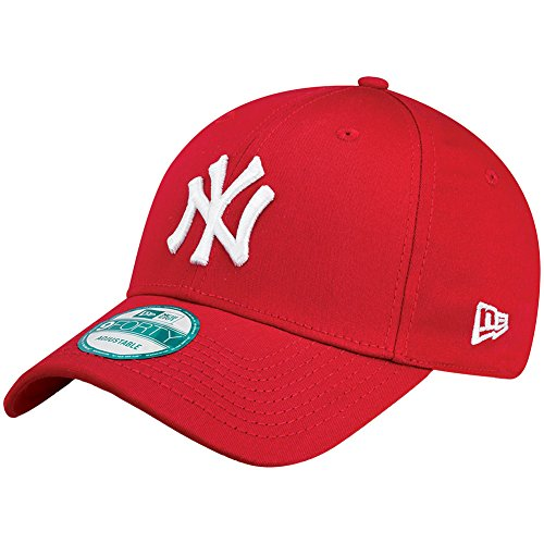 New Era New York Yankees - Gorra para hombre , color rojo (scarlet/white), talla única